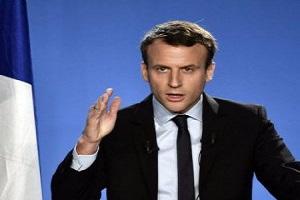 Макрон: Франція не визнає анексії Криму, Росія - агресор на Донбасі