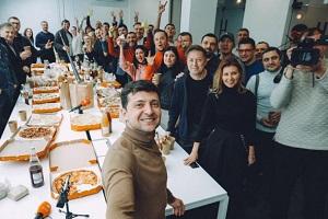 Зеленський зібрав з'їзд партії та пішов у президенти