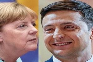 Зеленський поговорив із Меркель