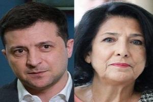 Зеленський провів переговори з президентом Грузії